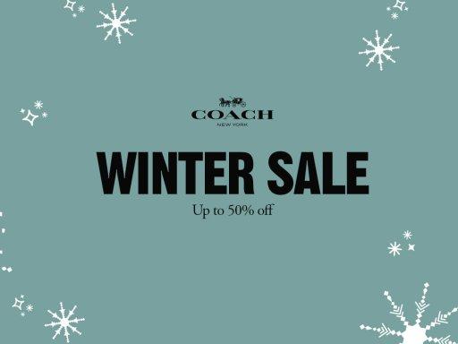 COACH<br>WINTER SALE