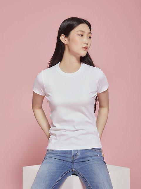 LAB:화이트 티셔츠