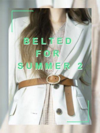 Belted for Summer♥