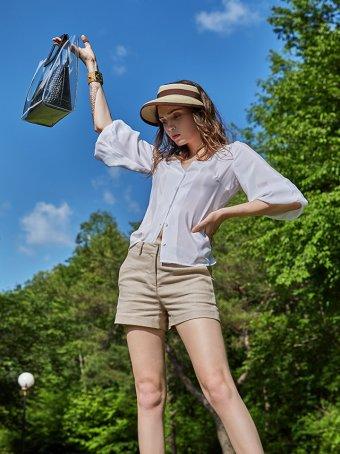 Cool&Chic Linen Shorts