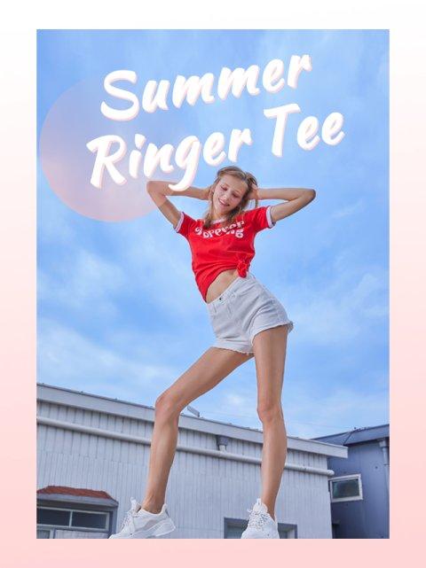Summer Ringer Tee