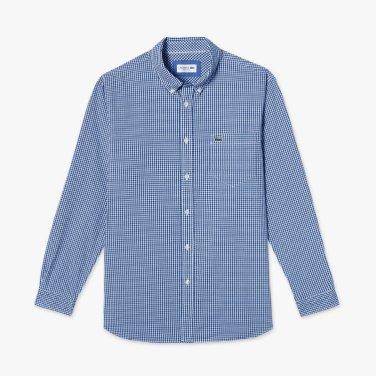 포블린 깅엄 셔츠 (CH2085-19A)