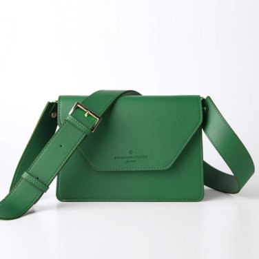 clover cross bag (deepgreen) - D1006DGN