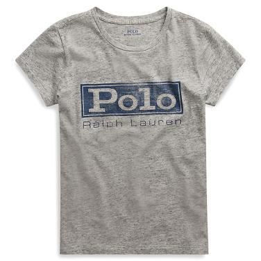 폴로 랄프 로렌 로고 저지 그래픽 티셔츠(WMPOKNINN810177D86)