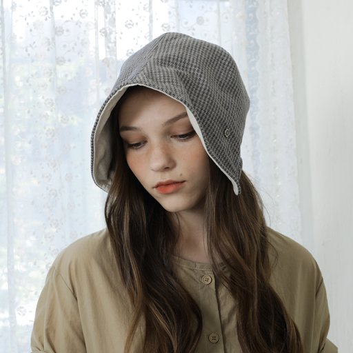 Bonnet beanie - grey