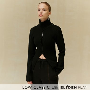 [로우클래식] 19 WINTER LOCLE FRONT SLIT TURTLENECK_BLACK (Z3LCI6KT101)