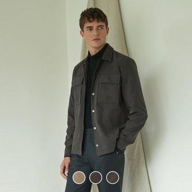 남성 스웨이드 셔츠 자켓 (10079903)