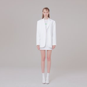 Mini skirt 002 White