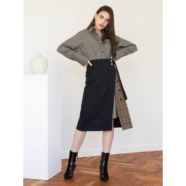 [에프코코로미즈] CH p wrap BT skirt