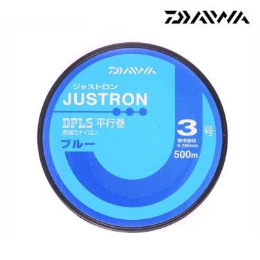 일본산 정품 저스트론 DPLS 블루 3호 500m 평행권 낚시줄