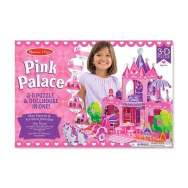 [멜리사앤더그] 핑크 궁전 3D 퍼즐