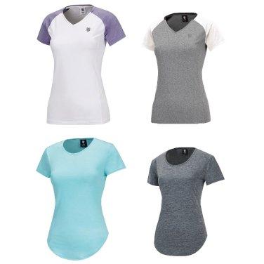 여성 기능성 반팔 티셔츠 4216RD309