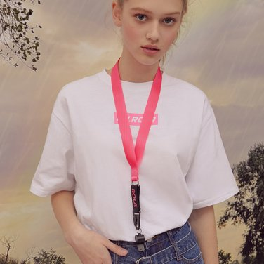 (LV-19301) ROLA NECKLACE WHISTLE PINK