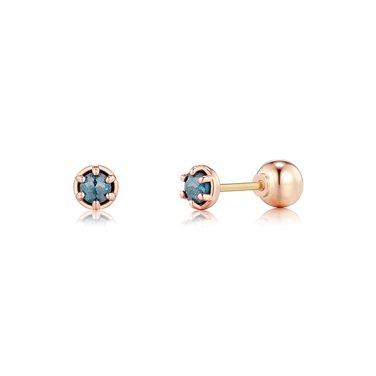 14K 다이아몬드 피어싱 T1421D(반짝)