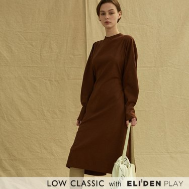 [로우클래식] 19FW BELT DRESS_BROWN (Z3LCI6DR002.BR)