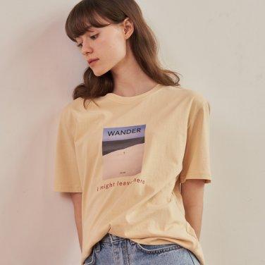 원더 라운드 티셔츠