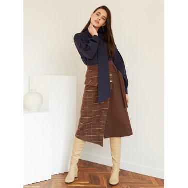 [에프코코로미즈] un CH wrap BT skirt