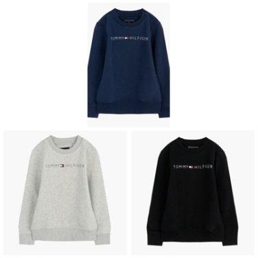 면혼방 로고 긴소매 맨투맨 티셔츠( T41J6TTO001BT1)