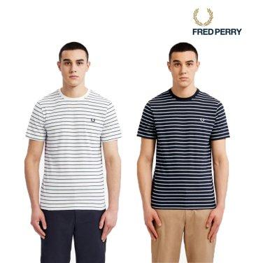 [S/S상품]프레드페리 스트라이프 티셔츠 2종 AFPM1915573