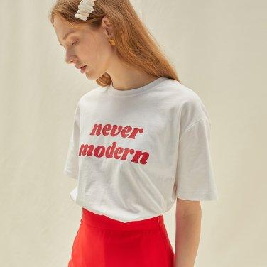 M Never Modern Tshirt_WH