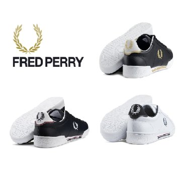 FRED PERRY 남여 공용 스니커즈 SFPU37222-3COL B7222 레더