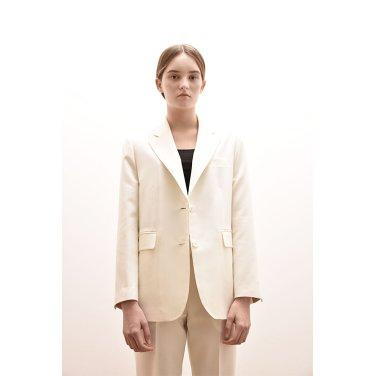 [아바몰리][유투브ummazing엄메이징, 하연수 착용] ADS1016 CASIOPEA SINGLE JACKET_WHITE
