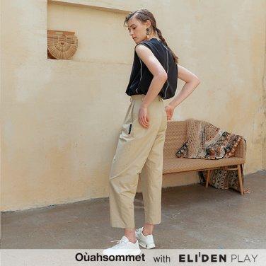 [우아솜메] Ouahsommet High-waisted Baggy Pants_BG (OBFPT009A)
