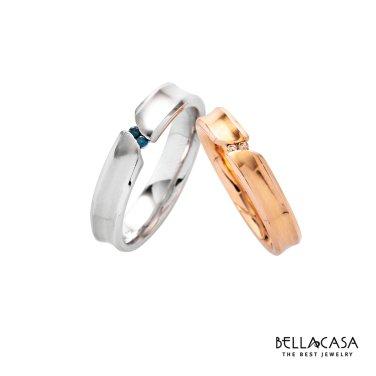 이네스 14k 다이아몬드 커플링