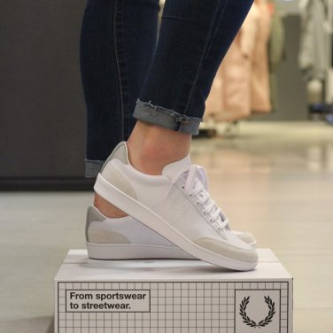 FRED PERRY Hopman Tumbled Action Leather with Suede(200) SFPU1811515-200 호프만스웨이드