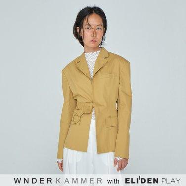 [분더캄머:WNDERKAMMER] 20SS Halfmoon Jacket Yellow (WK0S3-HMJK020)