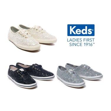 KEDS 컨템포러리 케즈 X 케이트스페이드 글리터 슈즈 WF52390 WF53272 WF52882 3-COR