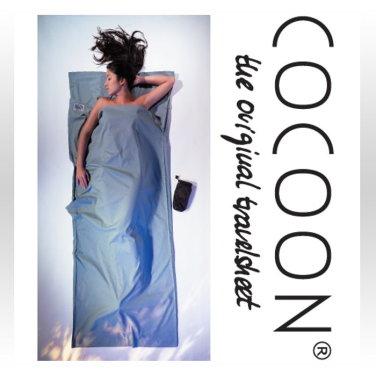 [COCOON] 코쿤 여행용 초경량 순면라이너 칵터스 블루 (CT14)