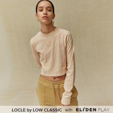 [로우클래식] 19 FALL LOCLE Square crop t_beige (Z3LCI6TS105)