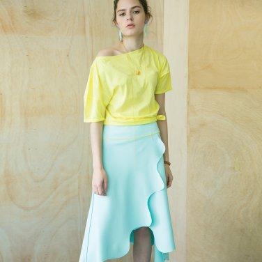 Lund Wave Wrap Skirt [Mint] (JC19SMSK04MT)