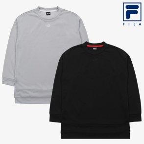 (여성) FILA 고딕 로고 롱 맨투맨2종 택1(FS2POA35) (FS2POA35_2SKU)