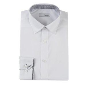 긴소매 일반핏 셔츠 (SE0SM11LS102SWH)
