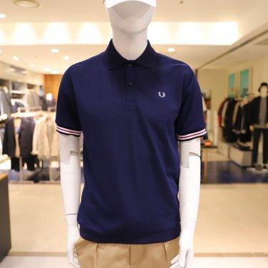 [S/S상품]Bomber Stripe Rib Pique Shirt보머 스트라이프 립 피케 셔츠 AFPM1911748-J01