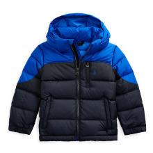 폴로 키즈 남아 5-7세 후드 다운 재킷(CWPOOTWB6010214B10)