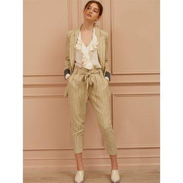 [까이에] Stripe Pants