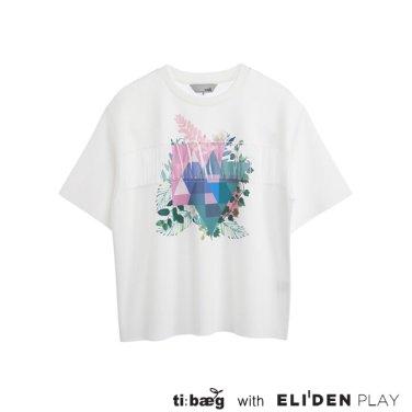 [티백][TIBAEG] GSH TS 지에스에이치 티셔츠 (TS-9S010)