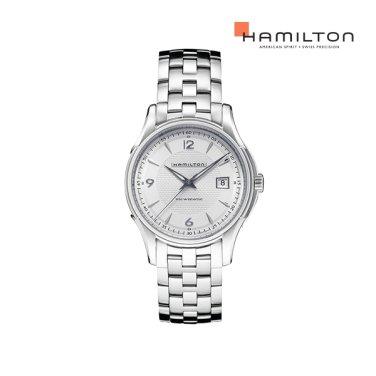H32515155 재즈마스터 뷰매틱 40mm 실버 메탈 남성 시계