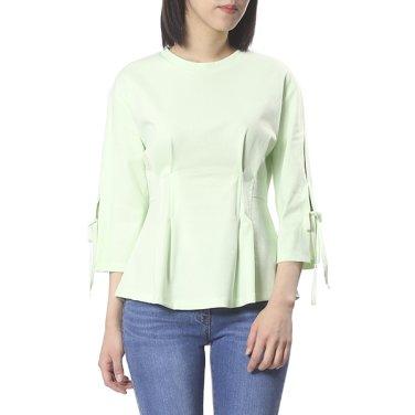 허리 슬림라인 티셔츠 OW9ME345-EL3