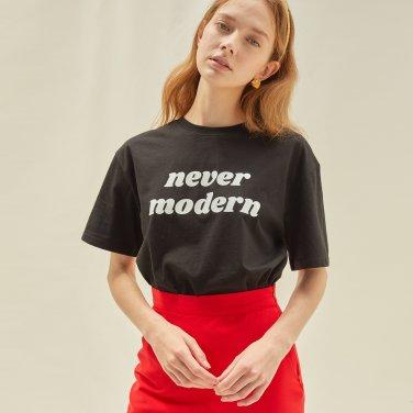 M Never Modern Tshirt_BK