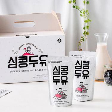 100% 국산콩 심콩 두유(190ml*20팩) / 무료배송