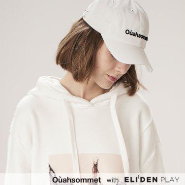 [우아솜메] Ouahsommet SYNTHETIC BALL CAP [WHITE] (OBBCP001A)