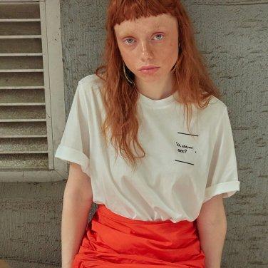 로고플레이 시리즈 티셔츠 DID YOU (HTDID)
