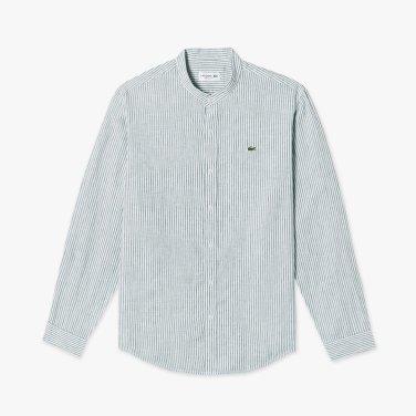 [엘롯데] 남성 스트라이프 린넨 셔츠 LCST CH120E-19B307