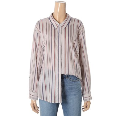 모던 스트라이프 셔츠(715-87317)