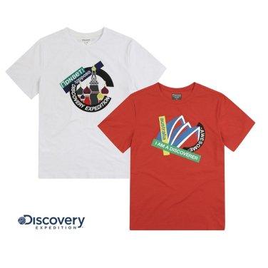 공용 트리퍼 그래픽포인트 라운드 티셔츠DXRT6S931