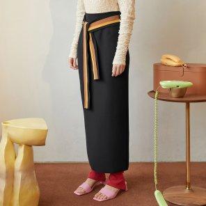 Conna Pencil Skirt_Black (JC19FWSK11B)